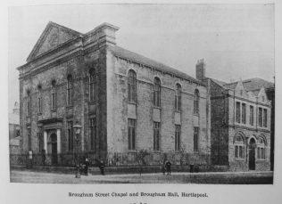 Hartlepool Brougham Street Primitive Methodist chapel | Primitive Methodist Magazine 1902