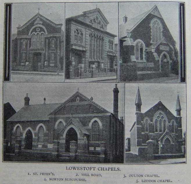 chapels of the Lowestoft circuit   Christian Messenger 1908/27