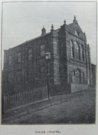 Talke Primitive Methodist chapel | Christian Messenger 1908/89