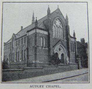 Audley Primitive Methodist chapel | Christian Messenger 1908/89