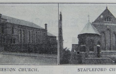Stapleford Primitive Methodist chapel