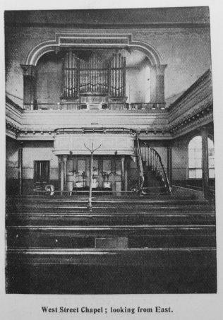 Hull West Street Primitive Methodist chapel interior   | Primitive Methodist Magazine 1902/420