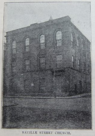 North Shields Saville Street Primitive Methodist chapel | Christian Messenger 1908/217