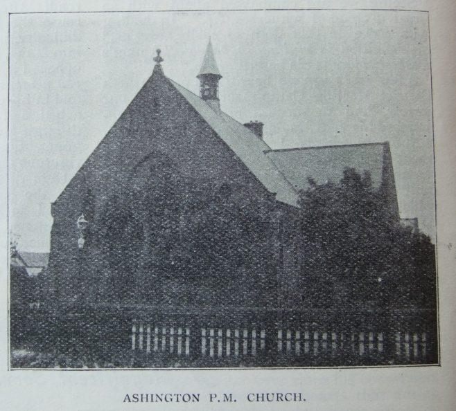 Ashington Primitive Methodist chapel | Christian Messenger 1907/12