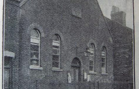Hanley Northwood Ebenezer Primitive Methodist chapel