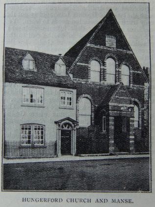 Hungerford Primitive Methodist chapel and manse | Christian Messenger 1907/42