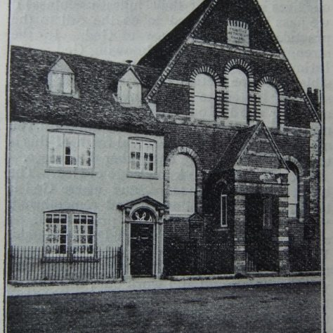Hungerford Primitive Methodist chapel and manse | Christian Messenger 1907/42
