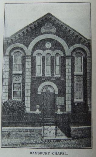 Ramsbury Primitive Methodist chapel | Christian Messenger 1907/42
