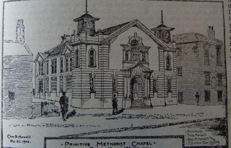 Leeds Silver Royd Hill Primitive Methodist chapel