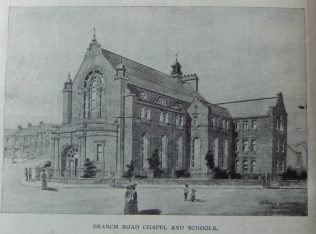 Branch Road Primitive Methodist chapel | Christian Messenger 1907/311
