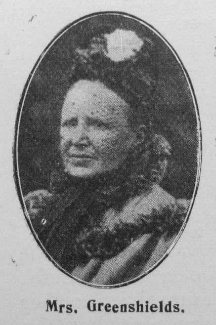 Amelia Greenshields, nee Crouch