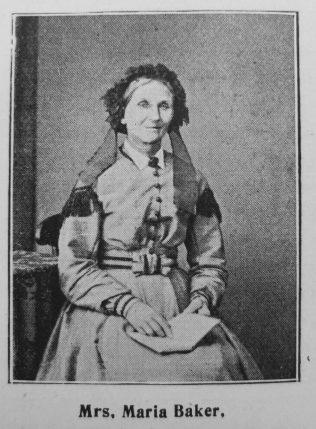 Baker, Maria (nee Bailey) (1813-1900)