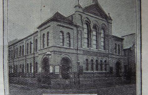 Nottingham Mayfield Grove Primitive Methodist chapel