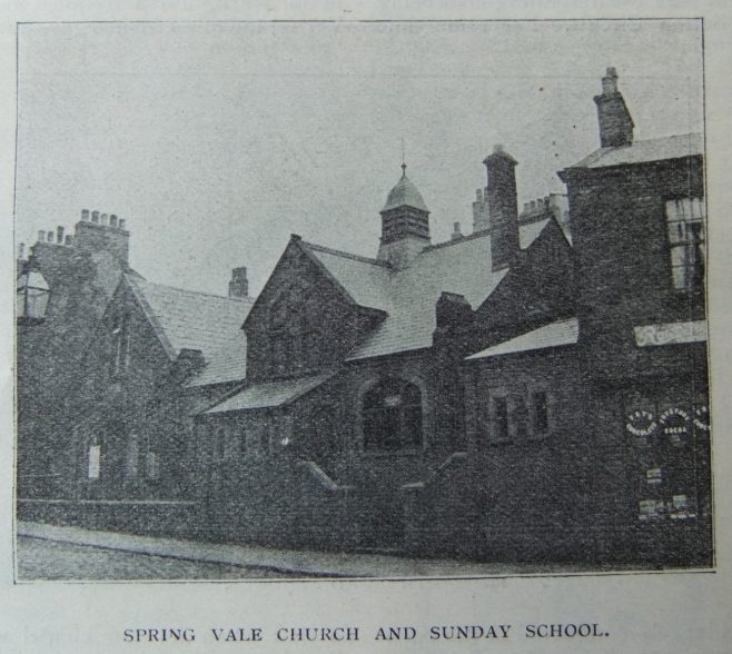 Darwen Spring Vale Primitive Methodist chapel | Christian Messenger 1906/44