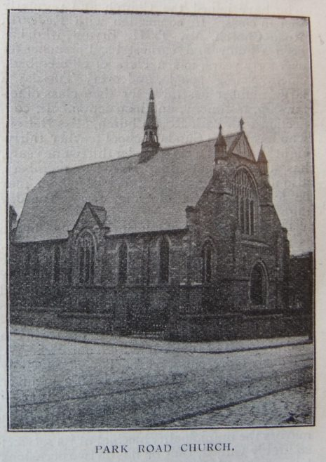 Darwen Park Road Primitive Methodist chapel | Christian Messenger 1906/44