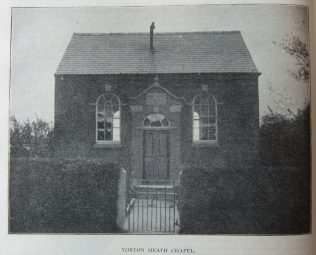 Yorton Heath Primitive Methodist chapel | Christian Messenger 1906/78