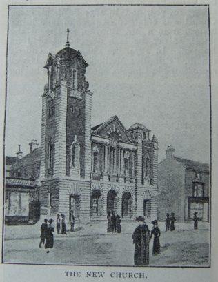 Lincoln Portland Place Primitive Methodist chapel 1905   Christian Messenger 1906/107