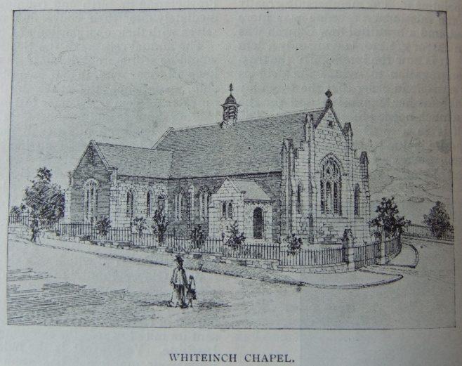 Whiteinch Primitive Methodist chapel   Christian Messenger 1906/301