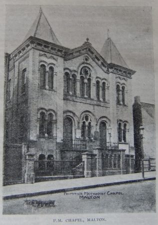 Malton Primitive Methodist chapel | Christian Messenger 1906/328
