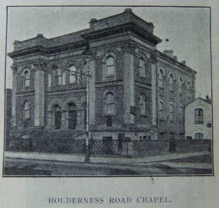 Hull Holderness Road Primitive Methodist chapel   Christian Messenger 1910/27