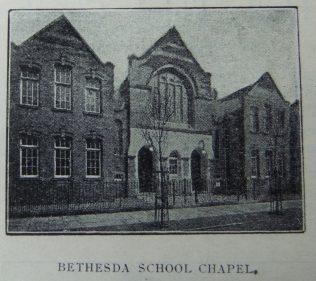 Hull Bethesda Primitive Methodist chapel and schools   Christian Messenger 1910/27