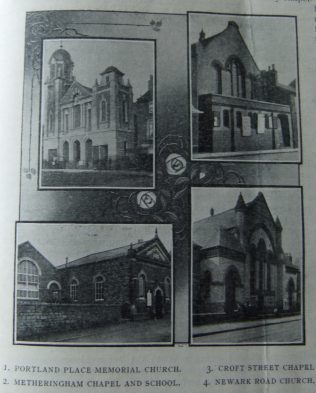Lincoln First circuit Primitive Methodist chapels | Christian Messenger 1910/123