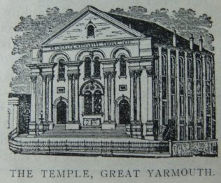 Great Yarmouth Primitive Methodist chapel   Christian Messenger 1910/281