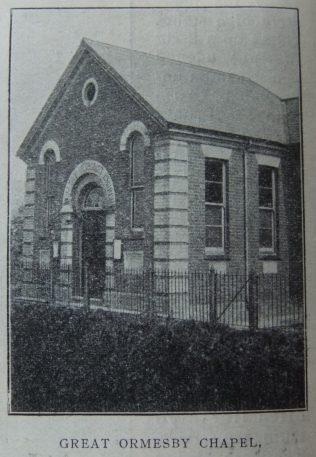Great Ormesby Primitive Methodist chapel   Christian Messenger 1910/281