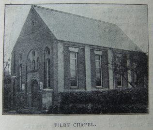Filby Primitive Methodist chapel   Christian Messenger 1910/281