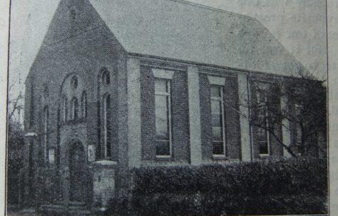 Filby Primitive Methodist chapel