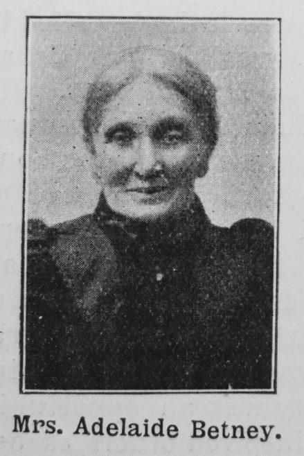 Adelaide Betney, nee Burley