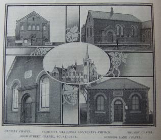 chapels of the Scunthorpe circuit | Christian Messenger 1911/61