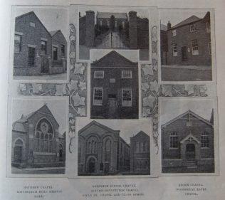Loughborough Circuit Primitive Methodist chapels in the early Twentieth Century   Christian Messenger 1911/92