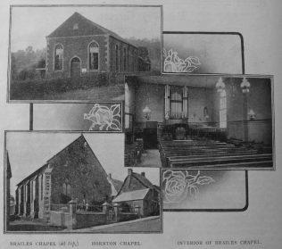 Chapels of the Banbury circuit   Christian Messenger 1911/151