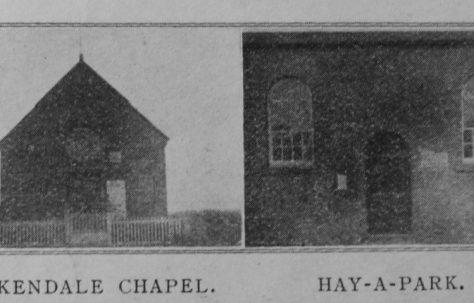 Hay-A-Park Primitive Methodist chapel
