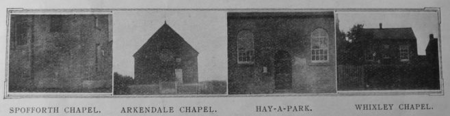 chapels of the Knaresborough circuit | Christian Messenger 1911/187