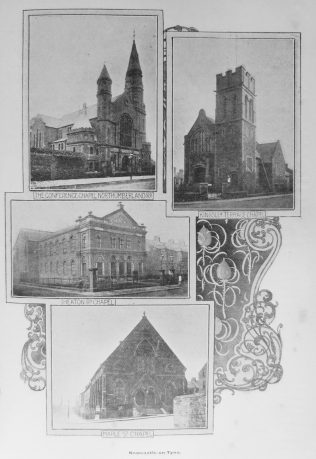 Newcastle Primitive Methodist chapels | Primitive Methodist Magazine 1903/477