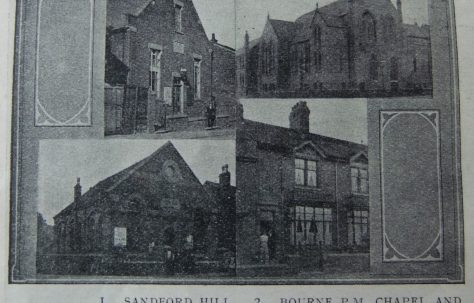 Longton Normacot Primitive Methodist chapel