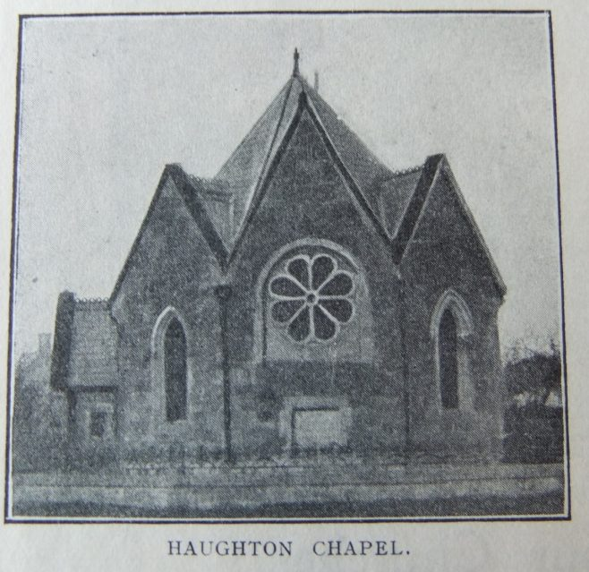 Haughton Primitive Methodist chapel | Christian Messenger 1911/373