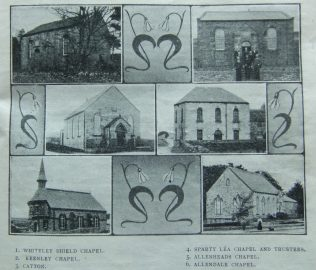 Chapels of the Allendale circuit 1912 | Christian Messenger 1912/28
