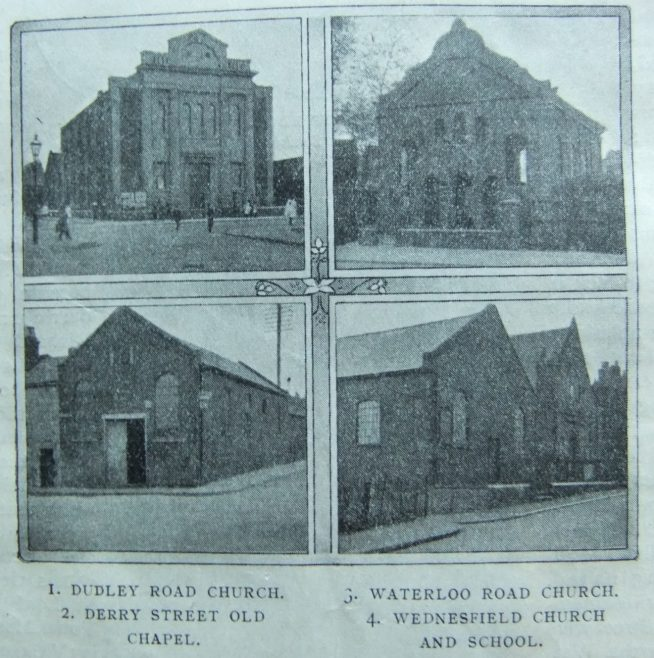 chapels of the Wolverhampton circuit | Christian Messenger 1912/124