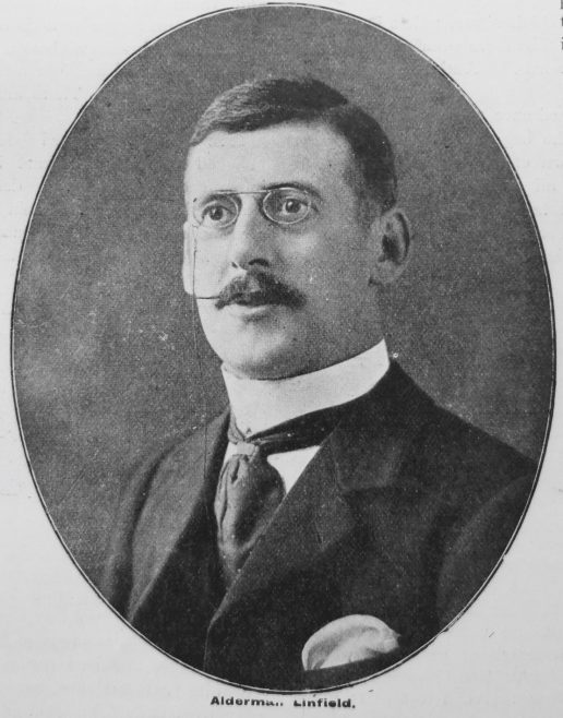 Frederick Caeser Linfield, Ex-Vice-President of Conference