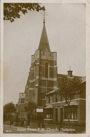 Darlaston Slater Street Primitive Methodist chapel | Englesea Brook Museum picture and postcard collection