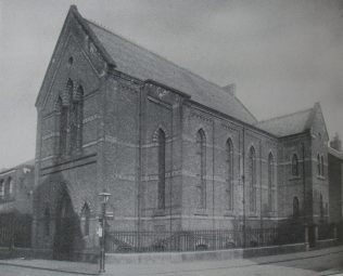 Derby Traffic Street Primitive Methodist chapel | Handbook of the Primitive Methodist Conference 1931; Englesea Brook Museum