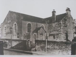 Photo.1 Photo of the earlier chapel.Date unknown | The Society at Dore Methodist Church 2015