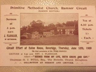 1909 Ramsor Circuit Effort at Doveridge | Period postcard