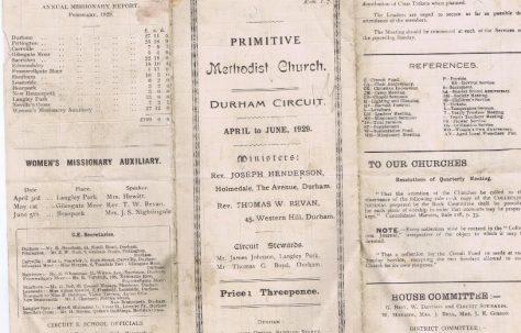 Durham Circuit 1929 Q2