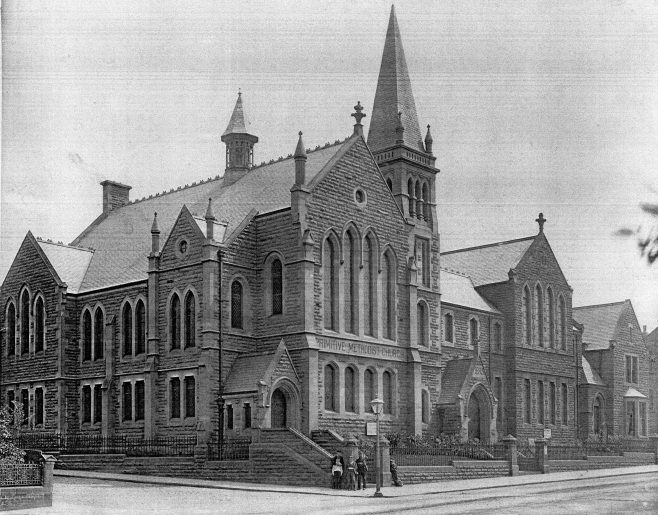 The completed suite of buildings at Durham Road PM Church, Gateshead 1907 | Bede Circuit Archive Collections