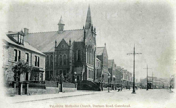 Durham Road PM Church, Gateshead c1908 | Bede Circuit Archive Collections
