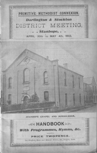 Stanhope Hugh Gilmore Primitive Methodist Chapel | The Weardale Museum